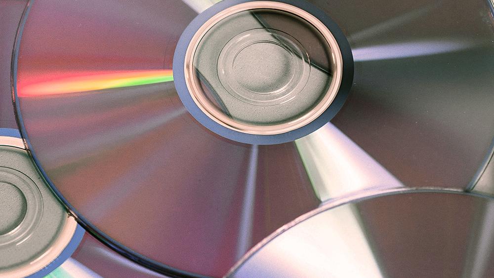 Several CD-ROMS