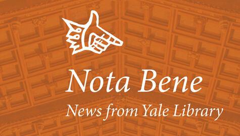 The Nota Bene logo with orange background.